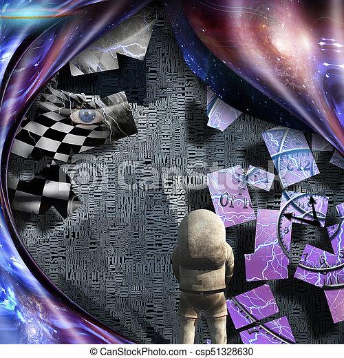 exploratie - csp51328630