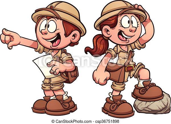Explorer kids - csp36751898