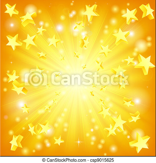 exploser, étoiles, fond - csp9015625