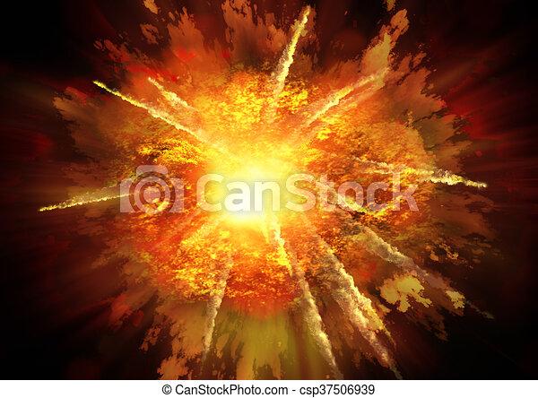 Explosion - csp37506939