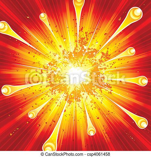 Explosion - csp4061458