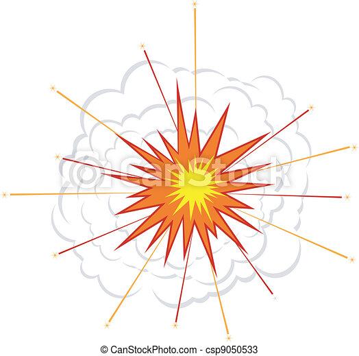 Explosion. EPS10 - csp9050533