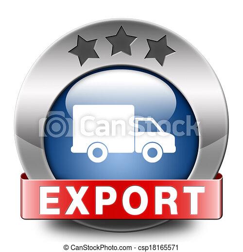 exportation - csp18165571