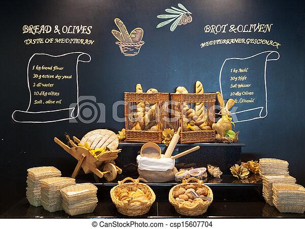 exposição, pão - csp15607704