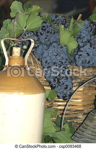 exposição, vinho - csp0093468