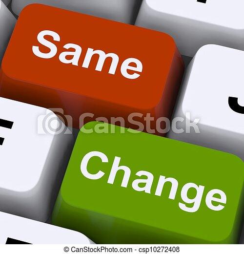 exposition, clés, décision, même, amélioration, changement - csp10272408