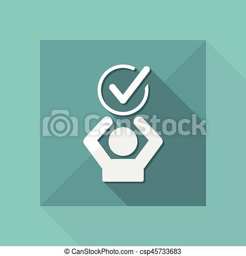 Express Agreement Vector Web Icon
