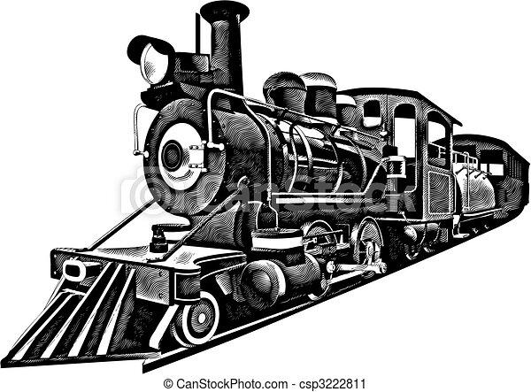 express_engraving, americano - csp3222811