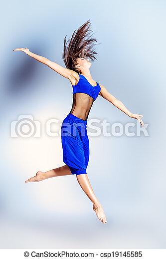 expressive dancer - csp19145585