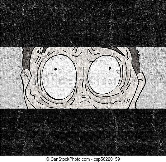 expressive eyes - csp56220159
