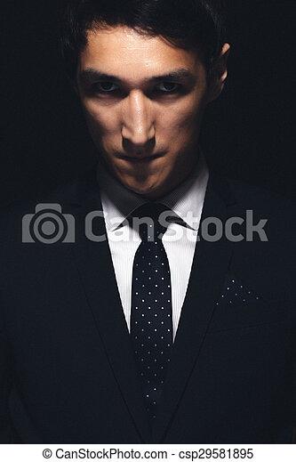 Expressive man portrait - csp29581895