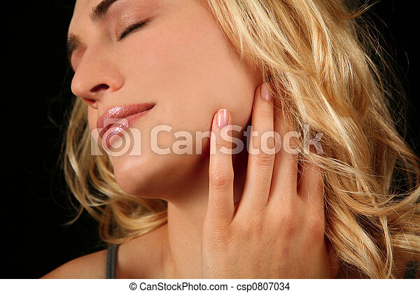 Expressive Young Woman - csp0807034
