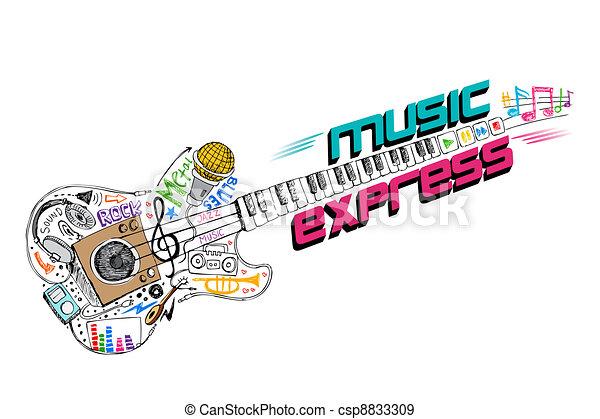 expresso, música - csp8833309
