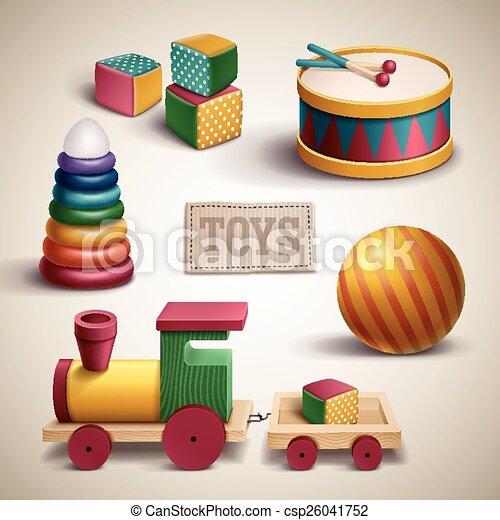 exquisite colorful toys set - csp26041752