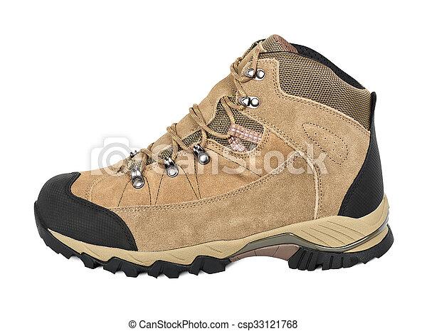 extérieur, chaussure, randonnée - csp33121768