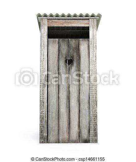 extérieur, toilette - csp14661155
