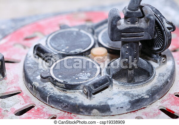 Extension electric cable cord reel - csp19338909