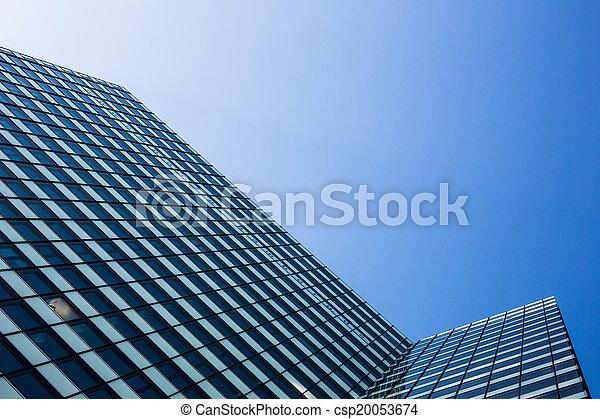 Exterior of building - csp20053674