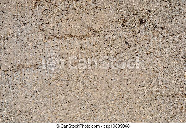 Exterior Stucco Texture On Building   Csp10833068