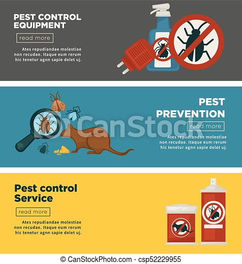 Extermination or sanitary pest control disinfection service ...