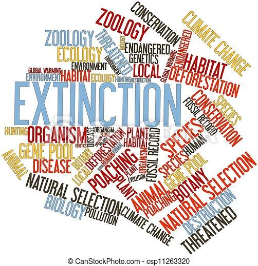 Extinction - csp11263320
