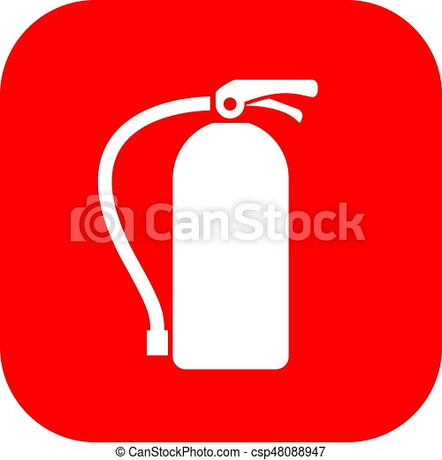 Extinguisher fire sign - csp48088947