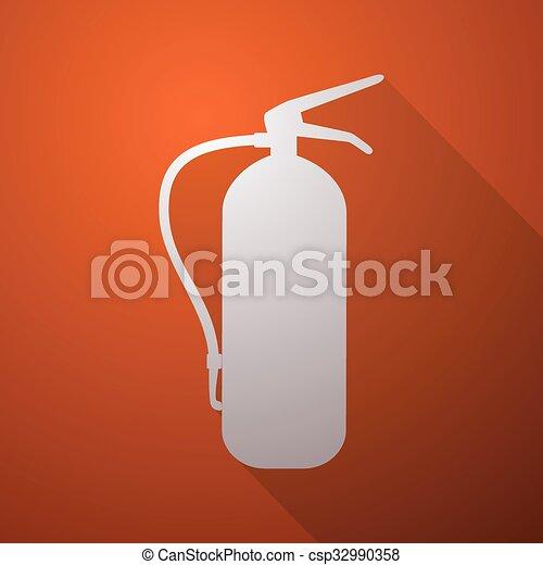 extinguisher symbol - csp32990358