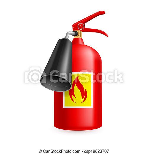 Extintor de incendios - csp19823707