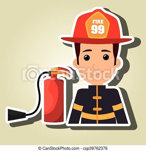 Extintor protector - csp39762376