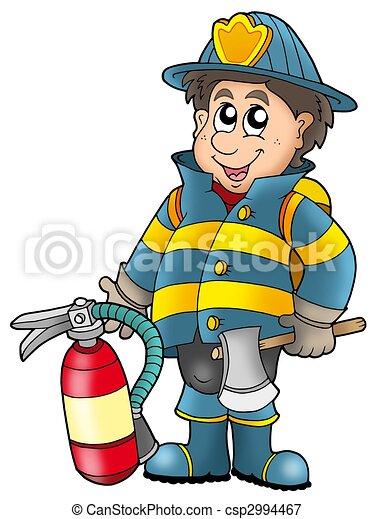 Worksheet. Stock Illustrations of extintor tenencia bombero  Fireman