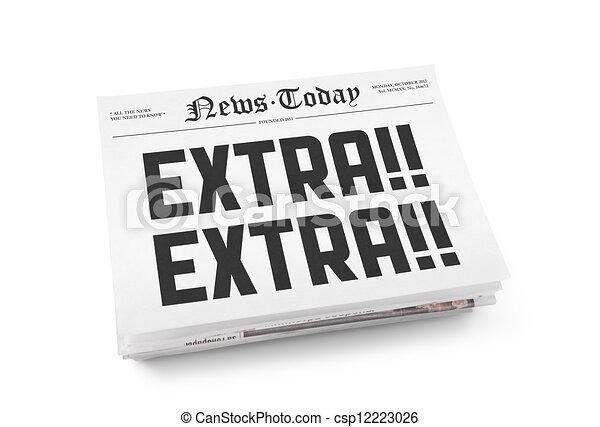 Extra news today - csp12223026