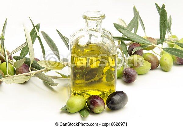 Extra virgin olive oil - csp16628971