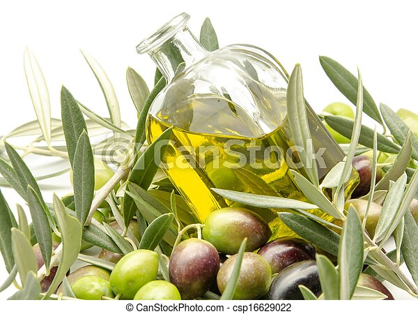 Extra virgin olive oil - csp16629022