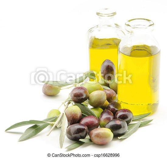 Extra virgin olive oil - csp16628996