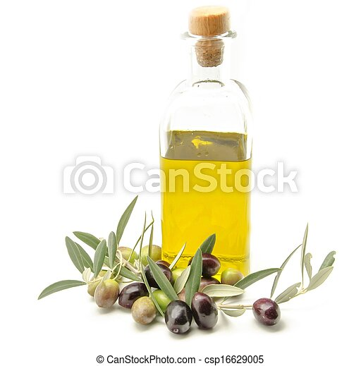 Extra virgin olive oil - csp16629005