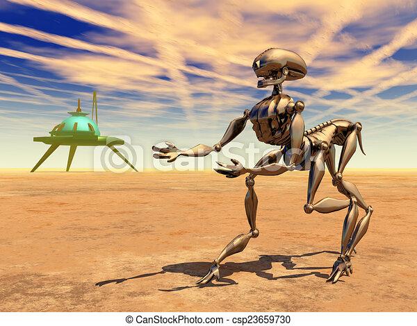 Resultado de imagen de Robot en el Espacio