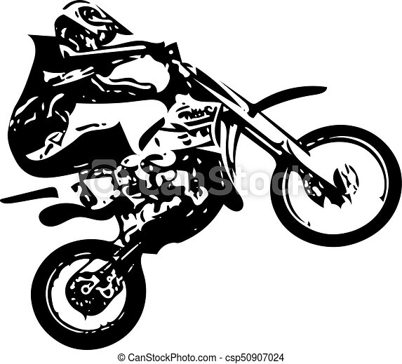 extreme motocross racer by motorcycle on abstract background vector rh canstockphoto com motocross racing clipart motocross clipart free