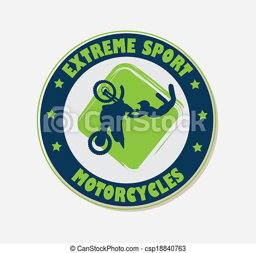extreme sport - csp18840763