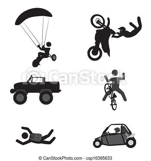 extreme sport - csp16395633