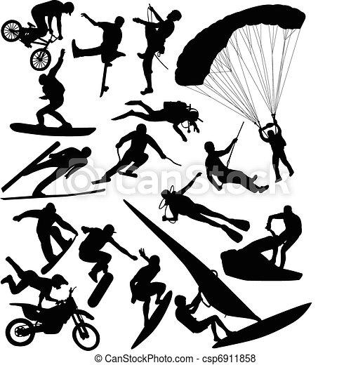 Extreme sports - csp6911858