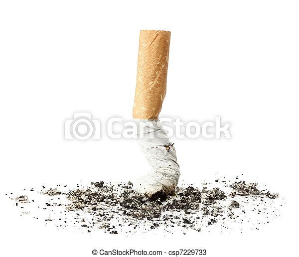 extremo cigarrillo - csp7229733