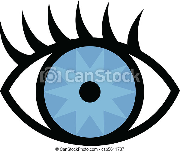 eye and eyelashes vectors illustration search clipart drawings rh canstockphoto com vector eye centre vector eye