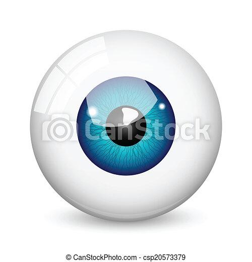 Eye ball - csp20573379