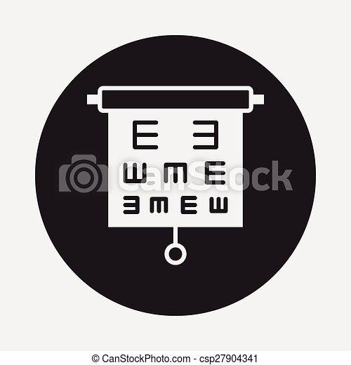 Eye Chart Icon