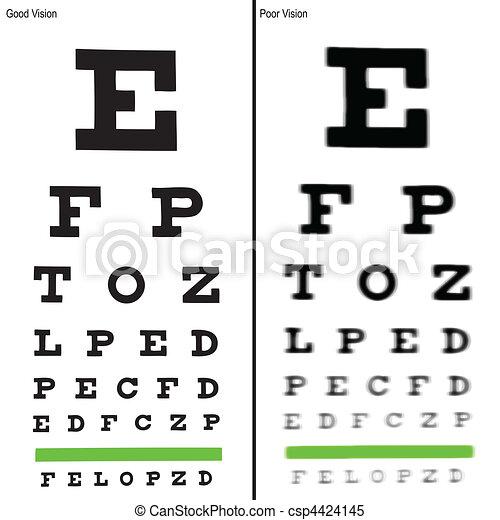 Eye charts - csp4424145
