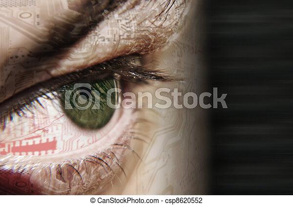 eye chip - csp8620552