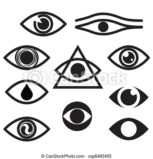character set eyes clipart vector search illustration drawings rh canstockphoto com vector eye chart vector eye