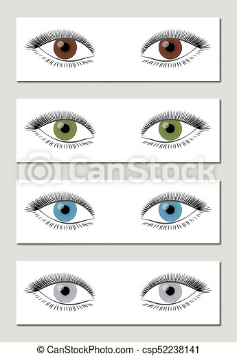 Eye Color Chart Brown Green Blue Gray Eye Color Chart In Dominant