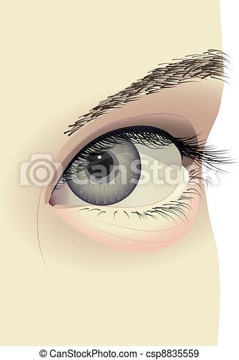 eye - csp8835559