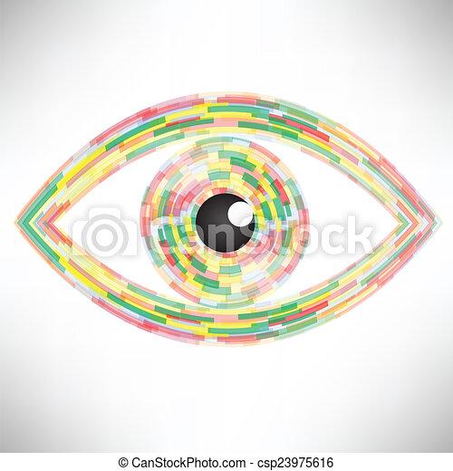 eye icon - csp23975616